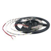 makara şeridi ışığı toptan satış-Şerit LED Işık SMD 2835 5mm PCB 60LED / M 5 M / Reel su geçirmez Esnek Yüksek Parlak LED bant