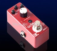 Wholesale Eno Pedals - ENO TC-1 octaver Guitarra Effect Pedal mixes the input signal with a synthesized signal Bypass free shipping