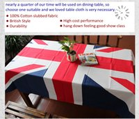 Wholesale High Quality Fashion British Style Multi purpose Cloth X inch Cotton Rectangular Tablecloth Square Table Cloth Round Table Cloth Cover