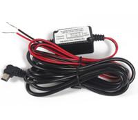 câmera de fio usb venda por atacado-Carro DVR Fio 12 V-24 V Câmera Do Carro Gravador de Fio Traço Cam Kit de Instalação Hardwire Mini Cabo de Alimentação USB para proteção de baixa tensão