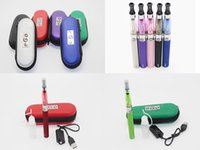 CE4 eGo Starter Kit E-Cig Cigarette électronique package Zipper Case Kit Simple 650mAh 900mAh 1100mah DHL gratuit