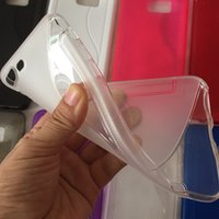 Wholesale S Line Wave Gel Case - For Iphone 7 Plus S line Anti-Skid Soft TPU Case 7Plus Fashion Silicone Crystal Clear Wave Colorful Gel Back Cover Skin
