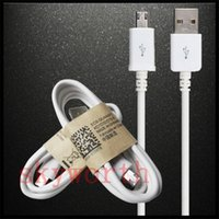 Wholesale lenovo one - 1m  3 ft cell phone charging cable v8 micro USB data Sync cable For Samsung Galaxy S6 S7 edge HTC one lenovo