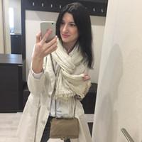ingrosso sciarpa a righe blu-Sciarpa di cotone a righe bianco blu all'ingrosso primavera donne stile retrò arte coperta morbida sciarpe di base scialle di grandi dimensioni regalo hijab di capodanno