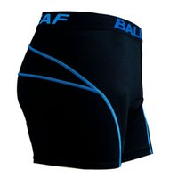 Wholesale Baleaf Brand New Men s Cycling Shorts Blue D Padded Coolmax Gel Riding Bike Cycling Underwear Colors M XXXL for all seaons