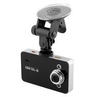 "ingrosso lo specchio di retrovisione del radar ha condotto il display-LCD 2.7 ""Car DVR K6000 1080P Full HD LED Night Recorder Cruscotto Vision Telecamera Veicolare Dashcam Carcam Video Registrator DVR per auto"