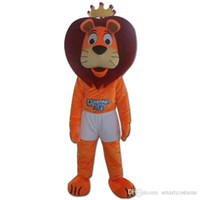 Mascot Costumes XL other orange high quality lion mascot costume for adult to wear