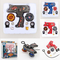 Wholesale fighting tops for sale - Fusion Top Metal Master Rapidity Fight Rare Beyblade D Launcher Grip Toy Sets