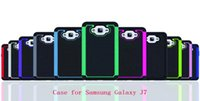 Wholesale Sumsung Galaxy Cell Phones - New Hybrid Ball Pattern Case Shockproof Cell Phone Case TPU+PC For Sumsung Galaxy J7 fasion 2 in 1 case