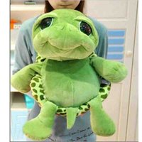 Wholesale Stuffed Turtles Big Eyes - Lovely Big Eyes Turtle Plush Toys for Children Stuffed Plush Tortoise Doll Toys Send Friend Gift