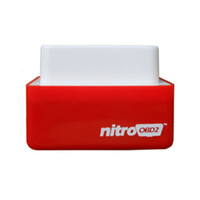 Wholesale Diesels Chip - Nitro OBD2 Chip Tuning Box NitroOBD2 Performance Plug and Drive OBD2 Chip Tuning Works For TOOL Diesel Retail Box