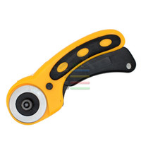 Wholesale Quilting Cutter - Free Shipping 45mm Rotary Cutter Blades Distinctive Quilters Sewing Quilting Fabric Cutting Crafts Needlewrok Patchwork Tools order<$18no tr
