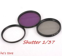 Wholesale Pentax Kit Lens - Green 67 mm UV + FLD + CPL Lens Filter Protector for canon nikon pentax sony