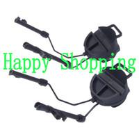 auriculares comtac al por mayor-Accesorios para casco FAST Gear CONJUNTO DE ADAPTADOR PARA RAIL Peltor Comtac Headset Ops-Core Helmet Adaptador para carril ARC