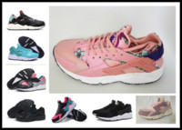 Wholesale Girl Stores - Women Huarache 1 running shoes pink Top quality Zapatillas girls sneakers speed cross shoes pure color sneaker y3factory store EUR 36-40