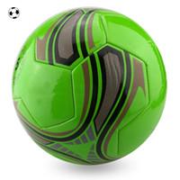 Wholesale Foam Soccer Balls - Foaming PVC Football Size 5 Plesant Goat and Big Wolf Soccer Balls MEN Sports Training Equipment