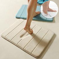 Superior Simple Design Memory Foam Bath Mat Soft Warm And Strong Anti Slip Mat In  The Bathroom Bedroom Stripes Mat Tapis De Bain 40*60cm