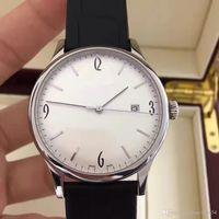 Wholesale Masterpiece Men - PP2017 latest master masterpiece men leisure mechanical movement cowhide strap diameter 41mm male brand Wristwatches