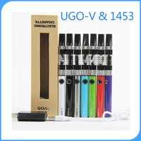 Wholesale Mt3 Clearomizer Gift - Evod Vaporizer mt3 vape kits 650mah 900mah Ecig 5pin UGO Battery 1453 Clearomizer Electronic Cigarettes Gift Box Pack On Sale china direct