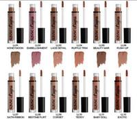 nyx lip lingerie al por mayor-NYX labios lencería líquida Matte Lip Cream Lipstick 12 colores con Encanto Long-lasting Brand Lipstick Lápices labiales envío gratis