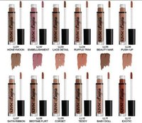 Wholesale NYX lip lingerie liquid Matte Lip Cream Lipstick colors Charming Long lasting Brand Makeup Lipsticks Lip Gloss