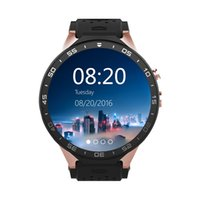 Wholesale Play Fitness - DHL FREE SHIPPING KingWear KW88 3G WiFi Android 5.1 Smart Watch Bluetooth SmartWatch MTK6580 512MB 4GB GPS Google Play 2.0mp for Android iOS