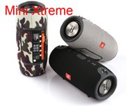 Wholesale Strap Buttons - Mini Xtreme Bluetooth speakers Outdoor subwoofer waterproof with straps stereo portable MP3 player speaker Support USB TF FM