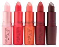 Wholesale Wholesale Charlotte - Gia Valli Lipstick Waterproof Giambattista Collection Matte Lipstick Lipgloss Eugenie Charlotte Margherita Bianca B Tats JJD2136