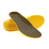 zapatilla de arco para correr al por mayor-Plantillas deportivas de alta calidad EVA Orthotic Arch Support Shoe Pad Sport Running Plantillas transpirables Cojín de inserción para hombres Mujeres