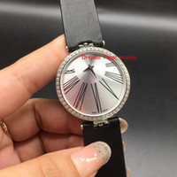Wholesale Cheap Ladies Fashion Watches - Free shipping high quality fashion lady quartz diamonds wristwatch women double dial roman index Swiss cheap watches