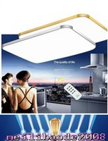 Wholesale Iphone Remote Led Light - Adjustable Ceiling Light Square LED Ceiling Light Fashion Droplight Chandelier iPhone shape Ceiling Lamp multi size selection MYY