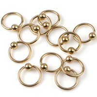 Wholesale Eyebrow Piercing 18g - 50Pcs lot 16G 18G 19G Titanium Captive Hoop Bead Rings BCR Eyebrow Tragus Nose Nipple Ring Bar Lips Body Piercing Jewelry[BB17-BB114]