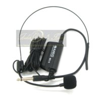 Wholesale Professional Musical Instrument Microphone - Professional Head Headset Microphone Condenser Mic For Voice Amplifier Speaker Guitar Saxophone Speech Musical Instruments Stage