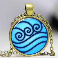 Wholesale Avatar Legend Korra - 2016 charms necklaces Avatar the Last Airbender necklace, Legend of Korra Water Tribe choker Jewelry