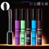 Wholesale Real Mascara - Waterproof Halo Lash Colour Mascara 2016 New Brand They'Are Real Beyond Mascara Natural Eye Makeup Look Black Color 10g Wholesale