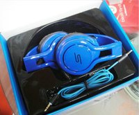 Wholesale Sms Audio Sync Wireless Red - Hot Sale SMS Audio SYNC Wired STREET By 50 Cent Headphones High Bass Over-Ear Wired Headphones Headsets With Retail Package