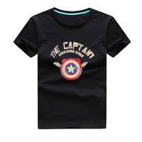 Wholesale Cartoon Kids Tees - New Arrival Cotton Short Sleeve Spider Print Kids T Shirts Children Boys Clothing Tees Child's Cartoon Outwear Fashion T-shirts