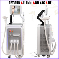 Wholesale Radio Frequency Ipl - Top quality OPT SHR ipl laser hair removal Elight skin rejuvenation nd yag scar removal radio frequency rf face lifting device