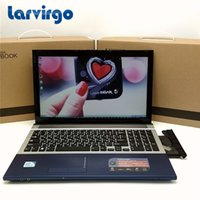 Wholesale Notebook Intel Core I7 - 15.6inch Gaming Laptop In-tel I7 Dual Core Fast CPU Windows 7 8.1 Notebook PC Computer with DVD ROM
