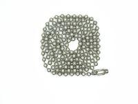 ingrosso catena a sfere 4mm-Collana con catena a palline da 30 pollici in acciaio inossidabile # 8 (4mm) 10 collana con catena di perle da conteggio catena di gioielli