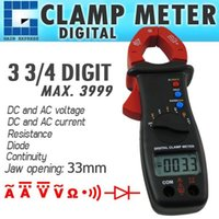 E04-032 Digital Clamp Meter Multimeter DC AC Spannung Strom Widerstand Diode Continuity Tester
