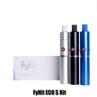 eko sigaralar toptan satış-% 100 Orjinal Herbstick ECO Seti 2200mAh Kuru Ot Buhar Cihazı Buharlı Bitkisel Buharlaştırıcılar E Sıcaklık Ayarlı 6 Sigara Vadeli Kalem