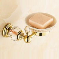 wandmontierter seifenhalter großhandel-Badeöl Eingerieben Bronze Bad Seifenschale Badzubehör Set Seifenhalter Wandhalterung