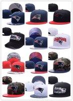 Wholesale Hats Snapbacks Mens - Hot Newest Men's Women's Basketball Snapback Baseball Snapbacks New England Football Hats Mens Flat Caps Adjustable Cap Sports Hat mix order