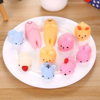 Mini Soft Caterpillar Squeeze Toys Soft Stretchy Caterpillar Healing Brinquedos Kawaii Cute Slow Rising Animal Hand Toy CCA7217 1000pcs