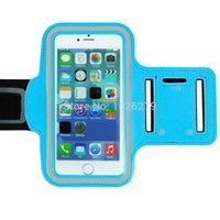 Wholesale Covers Galaxy Zoom - Wholesale-Sports Armband Case Cover For Samsung GALAXY Win Pro G381 K Zoom C1116 SIII Neo+ High Quality Sweatproof Arm band