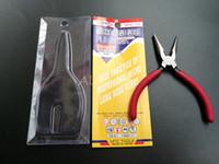 alicate de longo nariz venda por atacado-MTC-13 125mm de largura variedades de profissional nariz micro pinças nariz longo alicate ferramentas ferramenta multifuncional com único pacote DHL