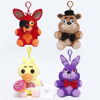 Wholesale Toy Teddy Bear China - 2017 new midnight teddy bear five night harem plush pendant toy doll explosion section wholesale free shipping