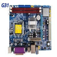 Wholesale Intel Chipset Motherboard - free shipping Brand Nnew Full Tested support ddr2 800 667 533 memory g31 chipset motherboard DDR2
