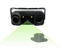 Wholesale Car Parking Aids - 170 Degree car rear view camera with two parking sensor , waterproof night version rearview camera and parking aid